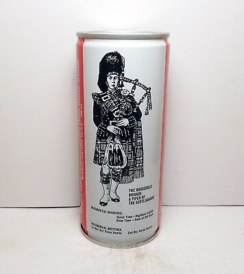 PIPER Export Ale by Tennent Glasgow, Scotland 440 ml S/S Pull Tab Beer Can