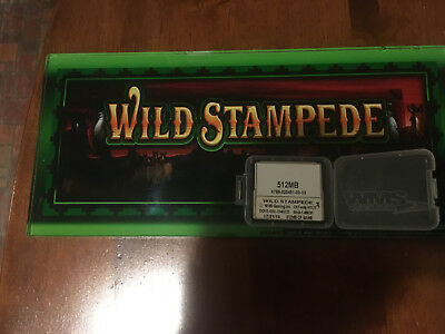 WMS BB1 Wild Stampede Software and Glass Kit