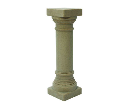 Greek Art Sculpture Column Pillar Statue Pedestal Decor Ancient Architecture 32""