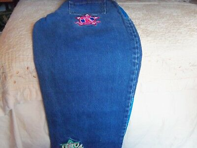 Vintage Boys Jeans Size 16 With Patches