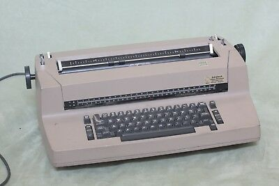 ibm correcting selectric ii typewriter Beige Tan Brown Tested Letter Gothic