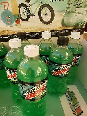 Mountain dew baja blast (1) bottle
