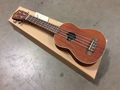 Lorden Soprano Ukulele with Gig Bag (Zebrawood) Unplayable - Kids Toy