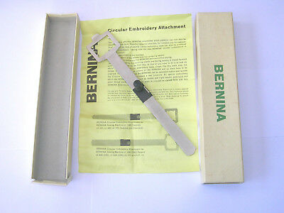 Vintage Bernina Sewing Machine Circle Embroidery Attachment  600/700/707/730/732