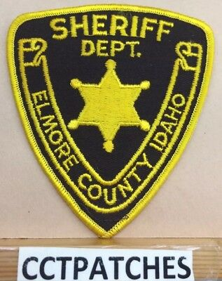 Elmore County, Idaho Sheriff (Police) Shoulder Patch Id