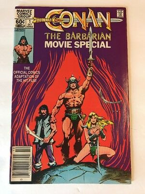 CONAN THE BARBARIAN MOVIE SPECIAL No 1 Comic Adaptation Of The Hit  Film