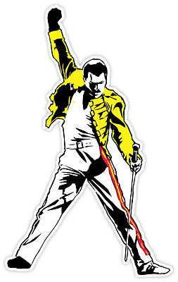 "Freddie Mercury sticker decal 3"" x 5"""