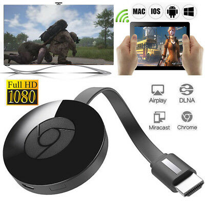 1080P Chromecast (3rd Generation) Media Streamer BRAND NEW - UK FAST