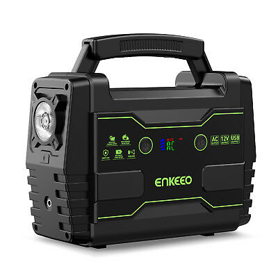 Enkeeo S155 Portable Power Supply 155Wh Outdoor Power Source Electric Generator