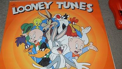 Loony Tunes 1996 Calendar With Animated Comments By Jeff Beck