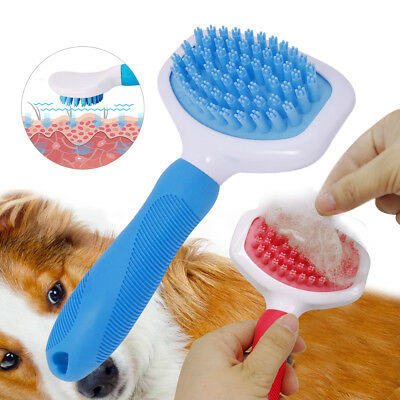 Professional Dog Grooming Brush For Long Hair Deshedding Comb Hair Remover Tool