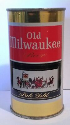 Old Milwaukee 1950's Flat Top Beer Can