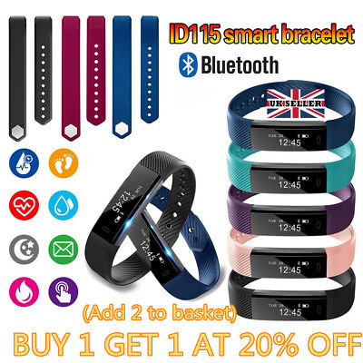 Fitness Activity Tracker Smart Bracelet Sports Watch Tracker for iOS Android gr8