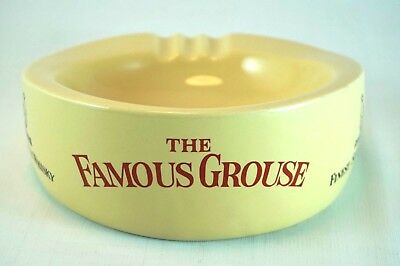 The Famous Grouse Finest Scotch Whisky Ashtray Wade England Vintage Collectables