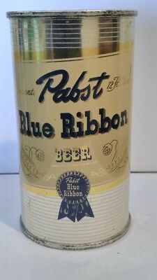 Pabst Blue Ribbon 1950's Flat Top Beer Can