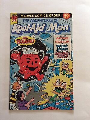 The Adventures of Kool-Aid man Marvel Copper age comic book #1 (1983)