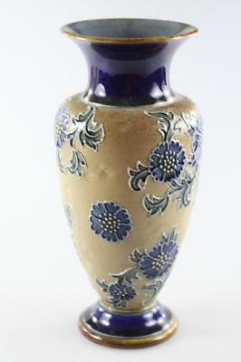 Antique Royal Doulton Burslem Baluster Lambeth Vase