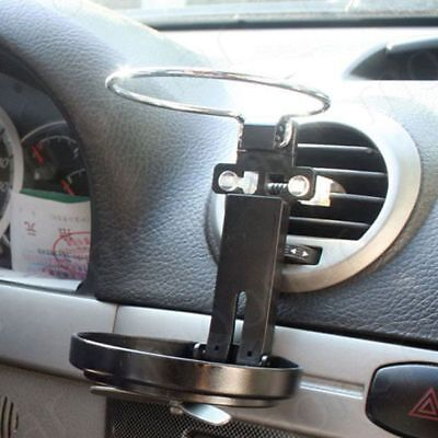 Universal Folding Cup Holder For Car Auto Truck w/ Fan Drink Bottle Stand Mount