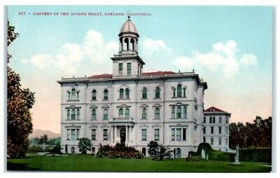 Early 1900s Convent of the Sacred Heart, Oakland, CA Postcard