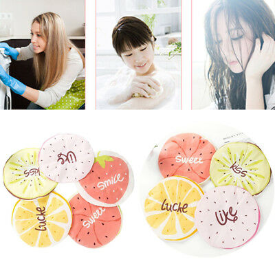Cartoon Fruit Style Waterproof Elastic Band Shower Cap Adult Hair Cover Bath Hat