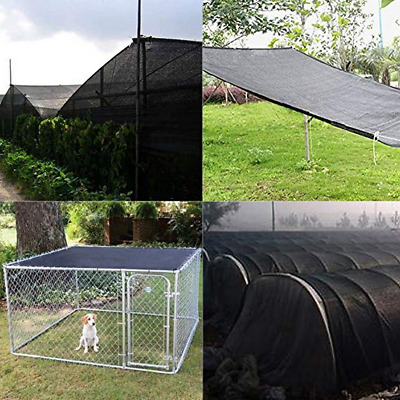 2M/6M 50-60% Sun Shade Cloth, Plant Cover,Greenhouse,Barn or Kennel UV Resistant