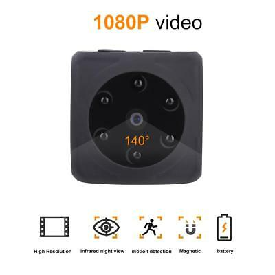 Full HD 1080P Mini Action Camera Outdoor Infrared Night Vision Motion Detection
