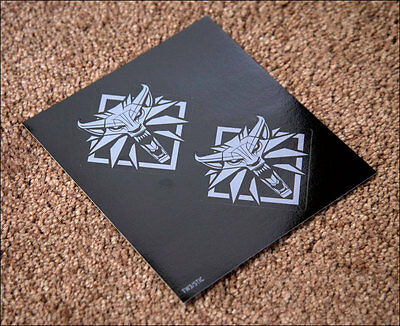 The Witcher 3: Wild Hunt sticker with wolf wolves from original UK english NEW