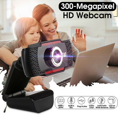 HD 300 Megapixels USB 2.0 Webcam Camera with MIC Clip-on for Computer PC Laptop