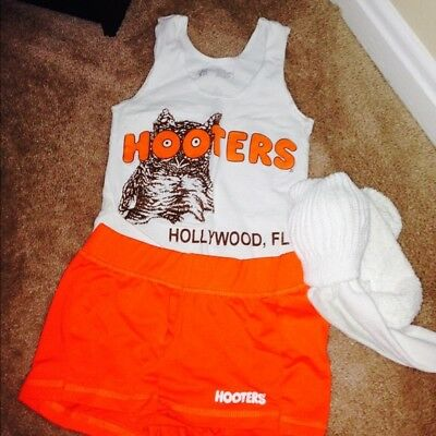 Hooters Girl Uniform With Name Tag