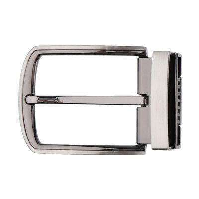 Men Classic Alloy Antique Belt Buckle Single Prong Rectangular Pin Buckle
