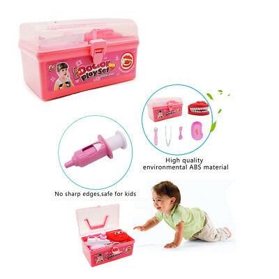 Kids Dentist Doctor Medical Set Role Play Pretend Kit Toy in Carry Box 15PCS