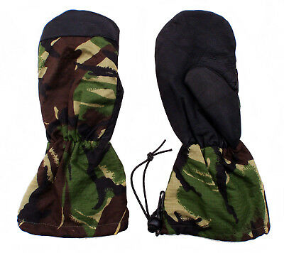 Army Dutch DPM Camouflage Gloves Extreme Cold Weather Winter Arctic Mittens