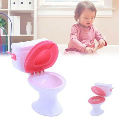 Toy Toilet Accessories Plastic Doll Toys Doll House Furniture Bathroom TOP