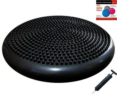 Air Stability Wobble Cushion with Pump, 35cm/14in Diameter, Balance Disc