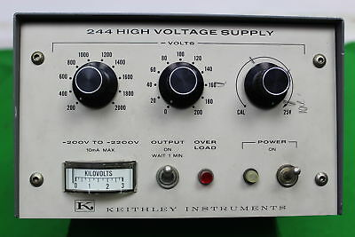 Keithley Instruments 244 High Voltage Power Supply