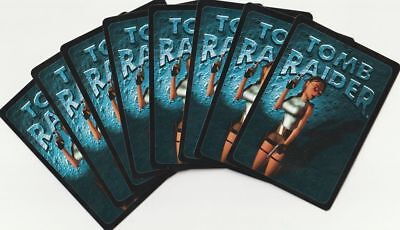 💠 Tomb Raider CCG - Lot of 126 cards 2 Rares (Base Set) English TCG