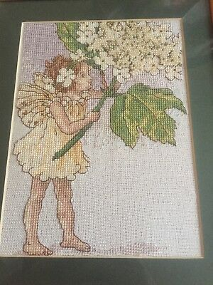 Flower Fairies Beaded Cross Stitch Picture