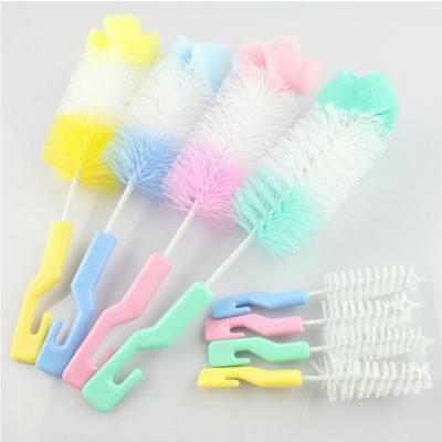 Teapot Nozzle Spout Tube Cleaning Baby Nipple Milk Bottle Clean Brush ONE