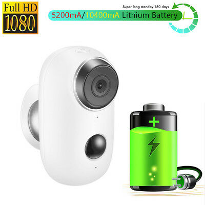 HD 720P Wireless Audio Security Camera WiFi Battery Operated Bullet IP Camera
