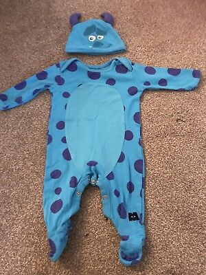 Disney Monsters Inc Outfit 3-6 Months