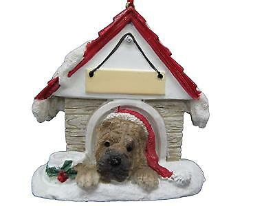 Doghouse Christmas Ornament - Shar Pei