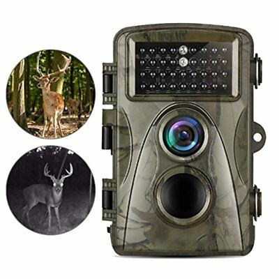 "Trail Hunting Camera Wildlife 2.4"" Game Cam12MP IR Night Vision Full HD 1080P MA"