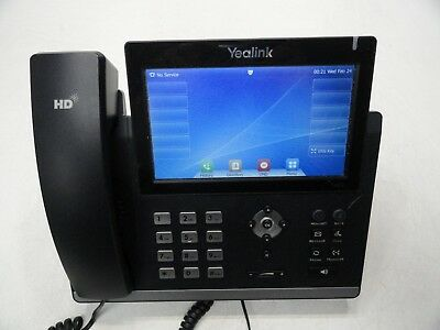Yealink SIP-T48G Ultra-Elegant Gigabit Business IP Phone Factory Reset AS-IS