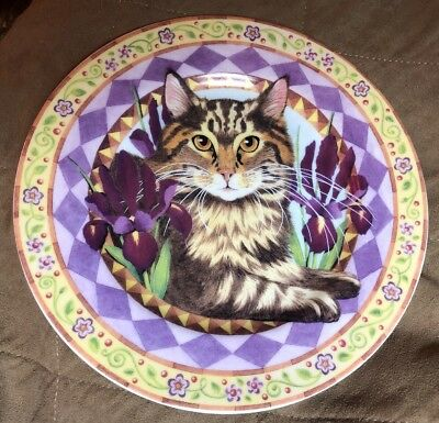 MUST SEE Andrea by Sadek  Plate - The Meow Collection Excellent Condition