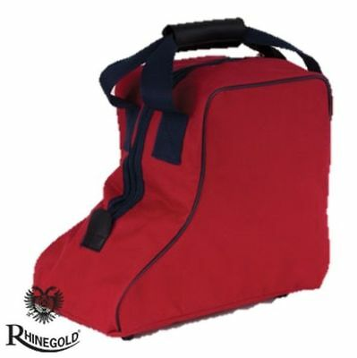 Rhinegold Short Boot Bag Red