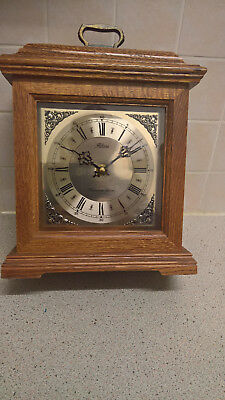 bracket clock with westminster chimes