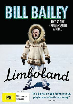 Bill Bailey Limboland Live at the Hammersmith Apollo DVD Region 4 NEW