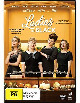 Ladies in Black DVD Region 4 NEW // PRE-ORDER for 19/12/2018