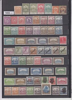 Hungary - 1904-20 Stamp Accumulation (MH)