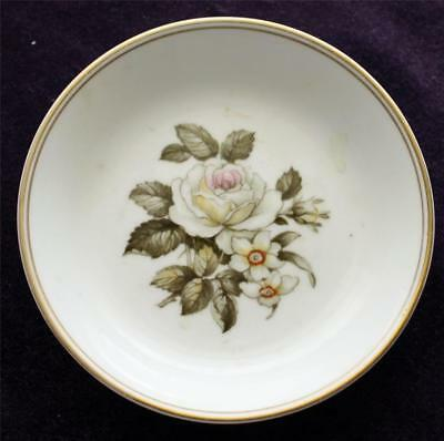 Royal Worcester Bone China Pin Tray with Roses